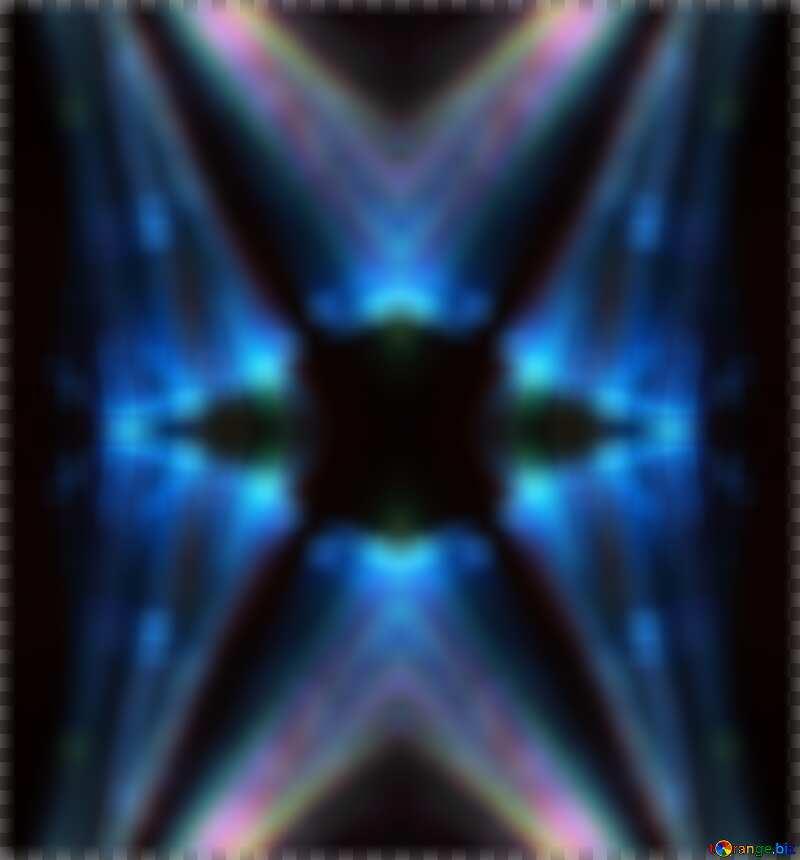 Blurred Lights fractal background №25870