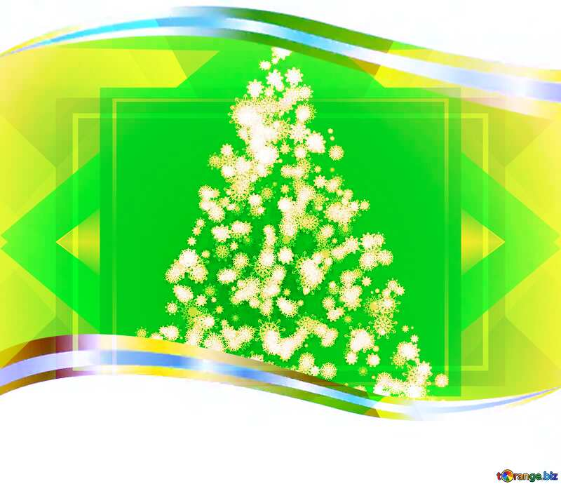 Decorative Christmas Tree Bow Borders Stock Illustration - Illustration of  divider, christmas: 3728159