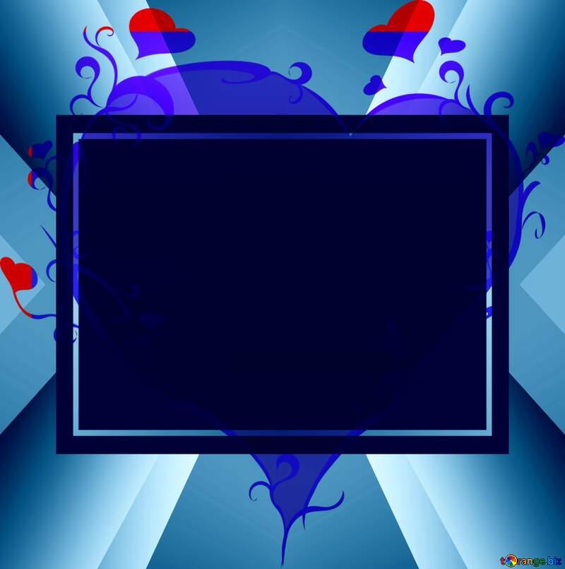Congratulations background template heart banner №15131