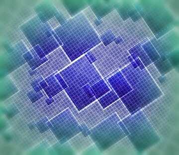 Die Wirkung von Licht. Die Wirkung von blau gefärbt. Unschärfe Rahmen. Bruchstück.