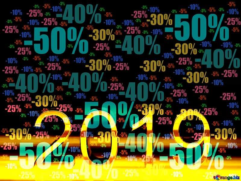 Store discount dark background. 2019 3d Render №51520