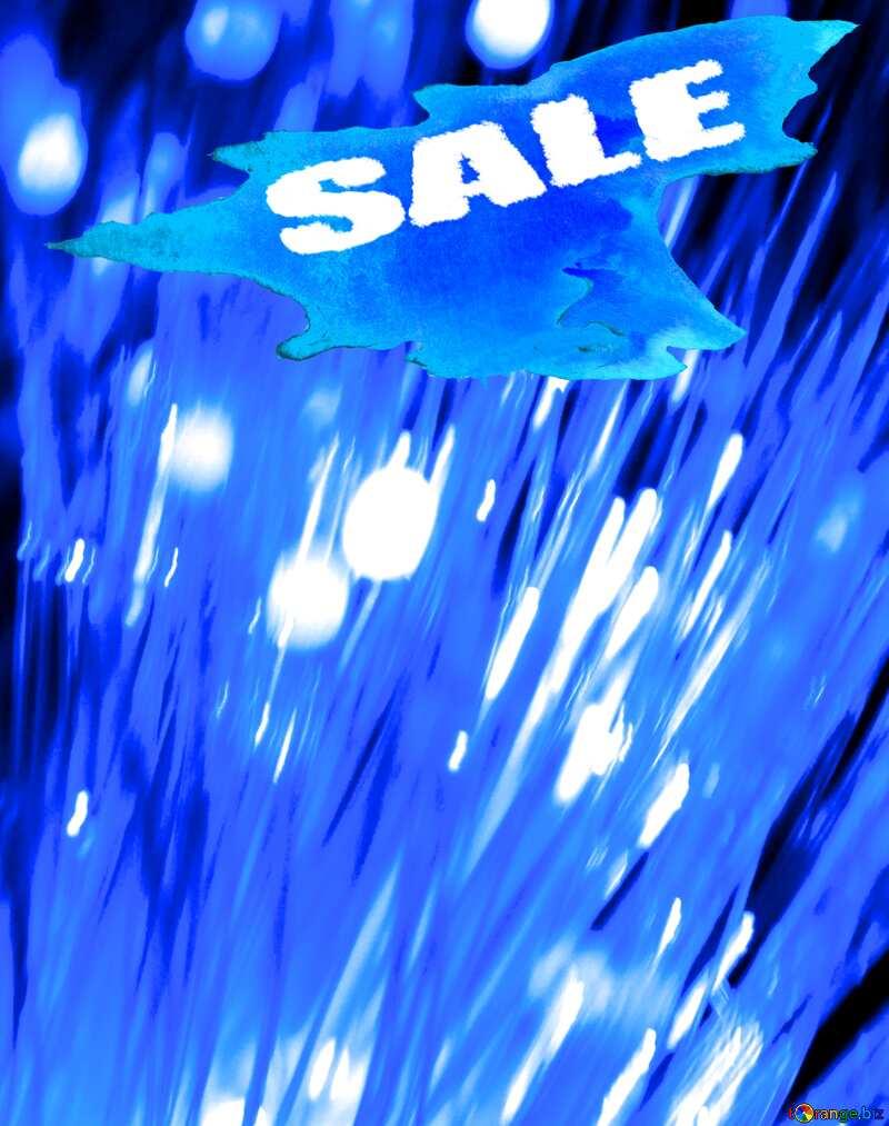 winter sale banner template design background Lights Reflections №41330