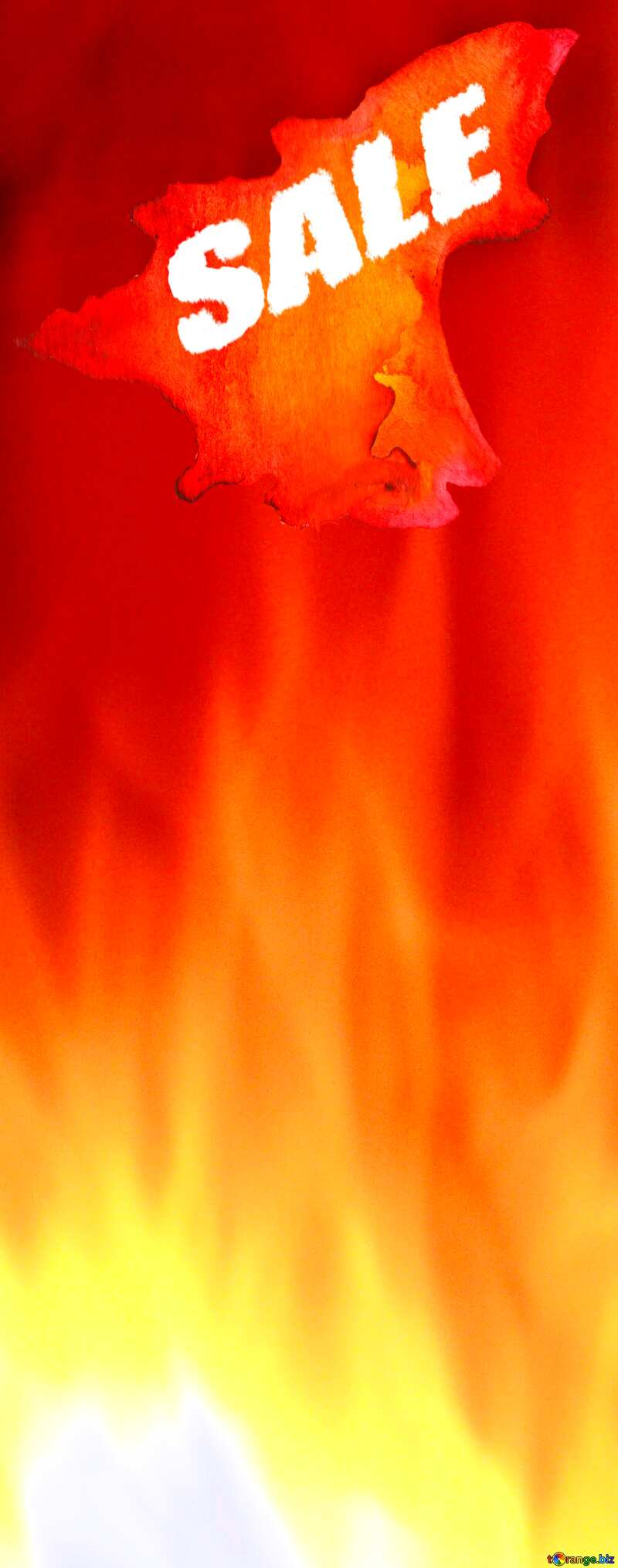 Red Fire Hot Sale background №9546