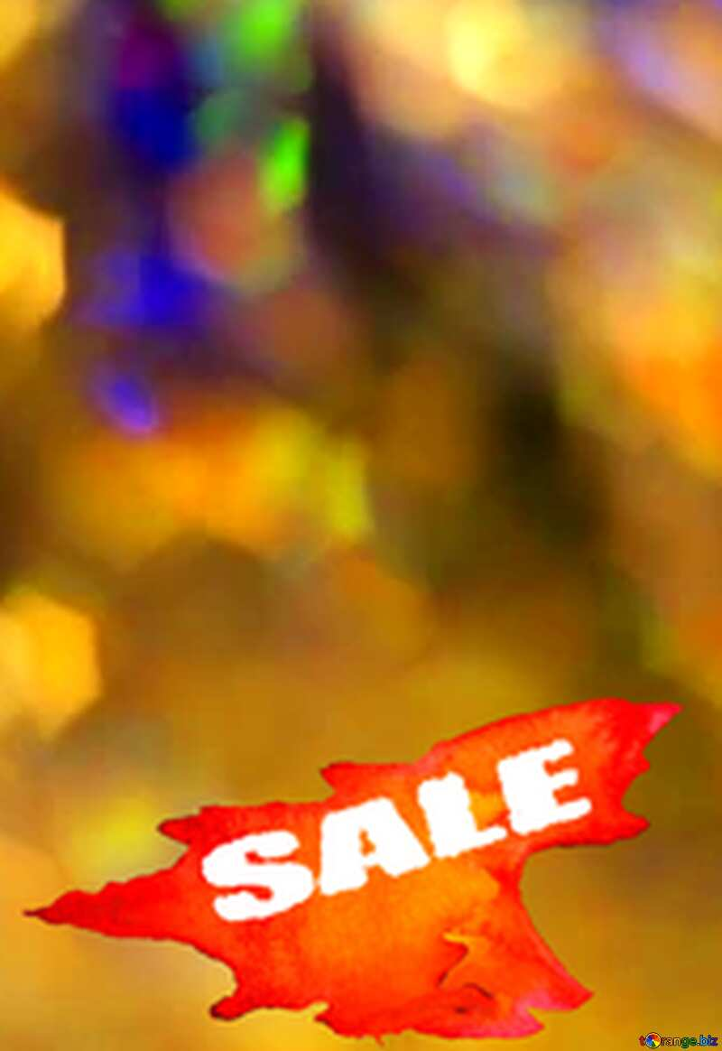 Winters Hot Sale background №7343