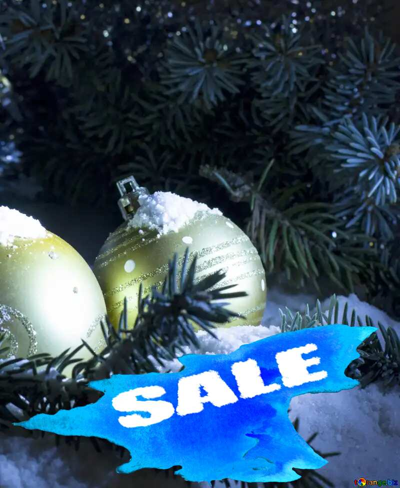Winter Sale background №15372
