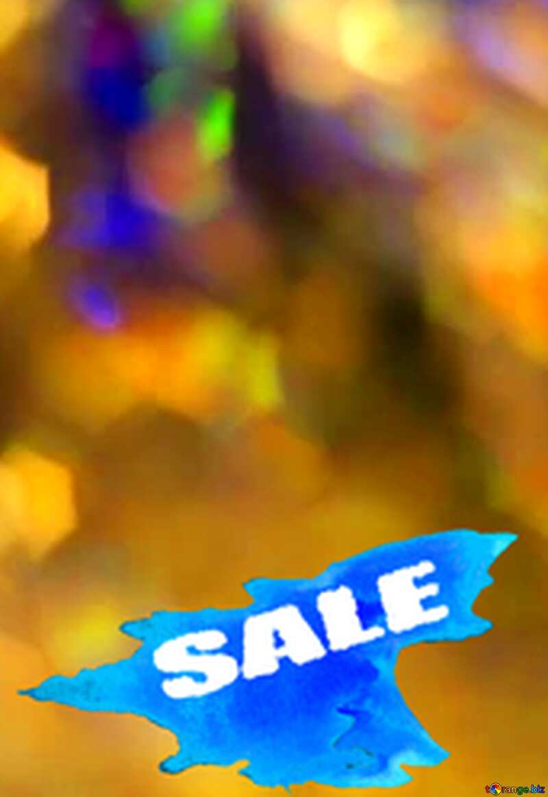 Winters Sale background №7343