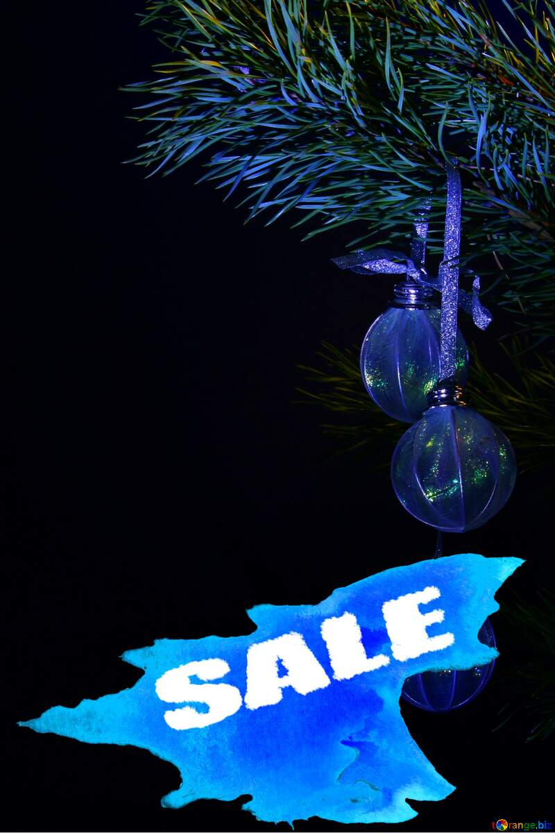 Sale background New Year Card №2379
