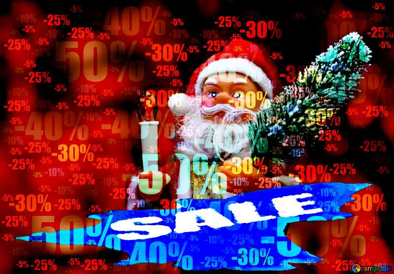 Store discount dark background. Christmas Sale №48166