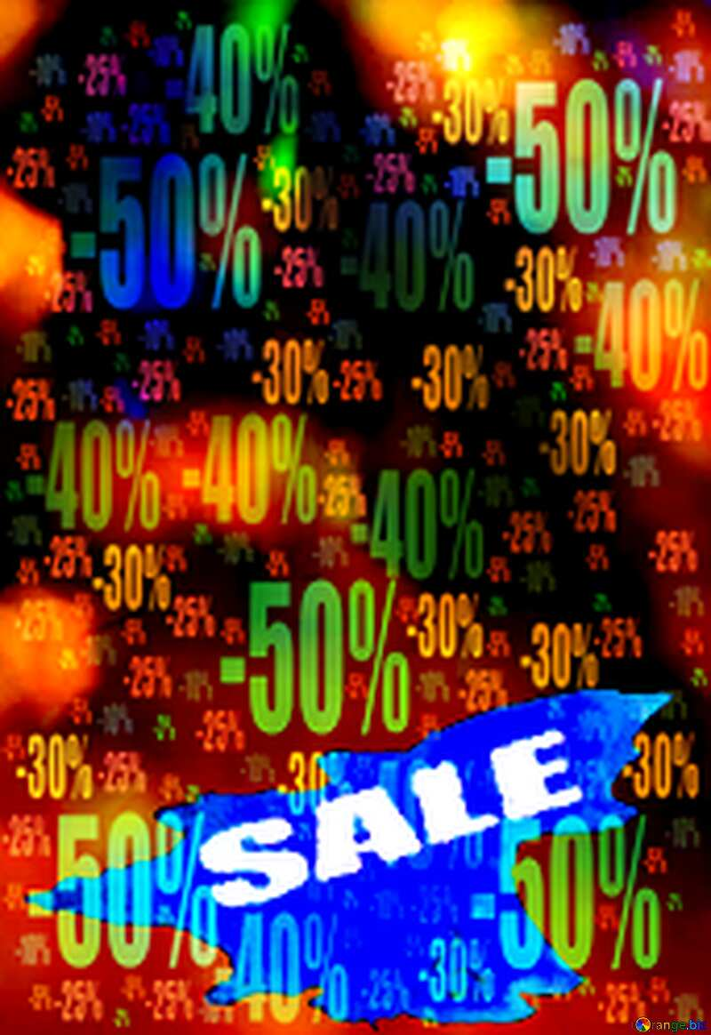Winters Sale background Store discount dark background. №7343