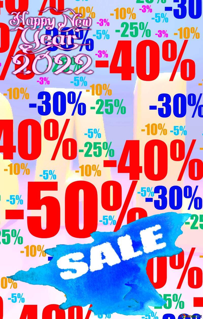 Store discount background. place for text shopping promotion banner №51545