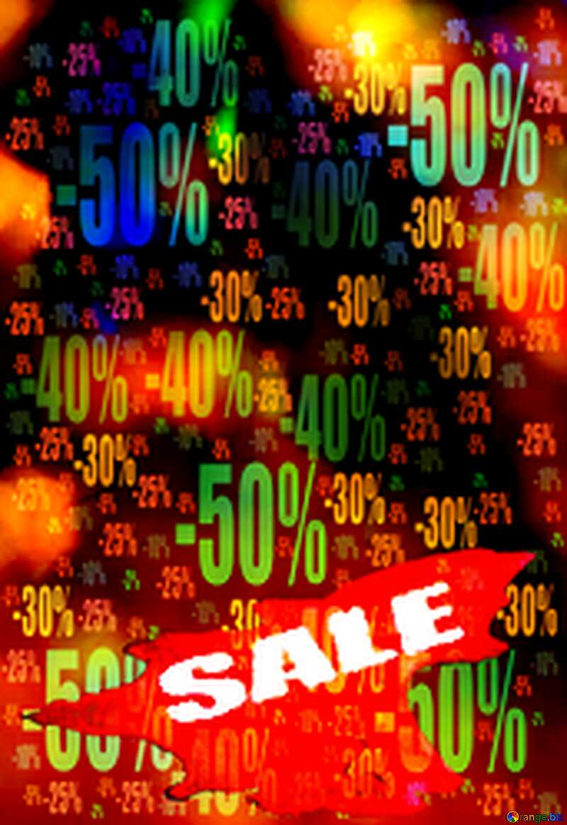 Winters Hot Sale background Store discount dark background. №7343