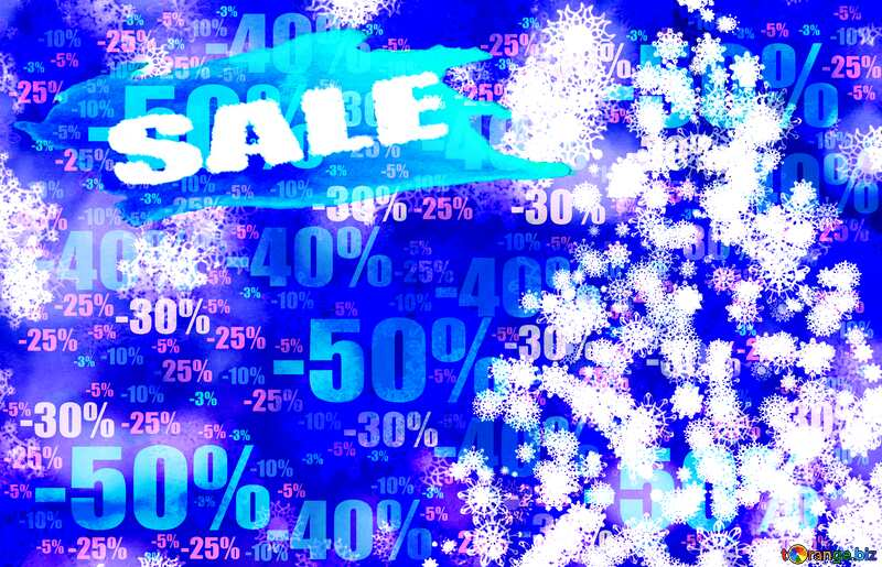 Background frame Christmas Sale Store discount dark background. №40703