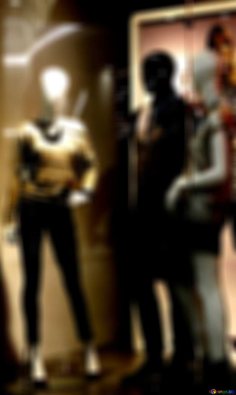 Sale clothes blur poster banner background №16265