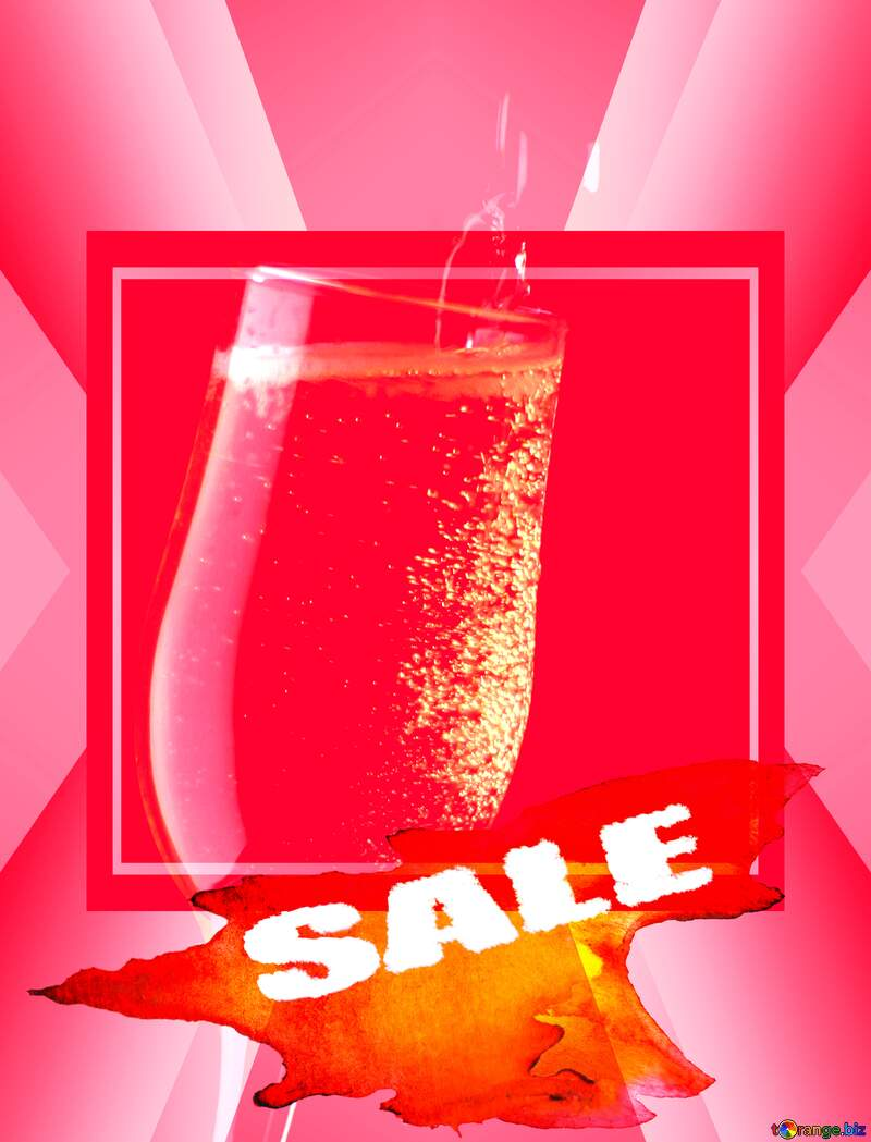 Hot Sale background Wine frame Template №25738