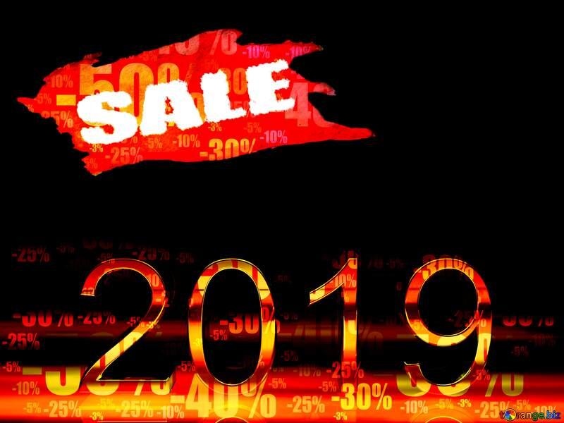 Store discount dark background. 2019  3d Render Hot Sale №51520