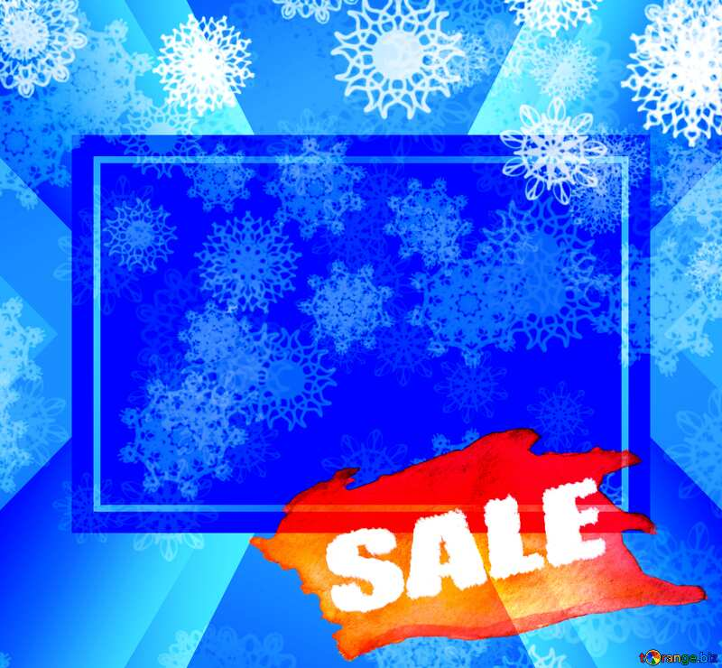 Christmas and new year Sale background №40662