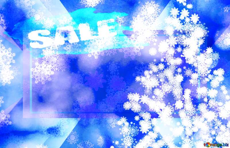 Background frame Christmas Sale №40703