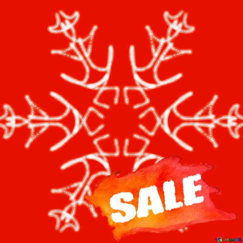 Snowflake pattern Sale №40244