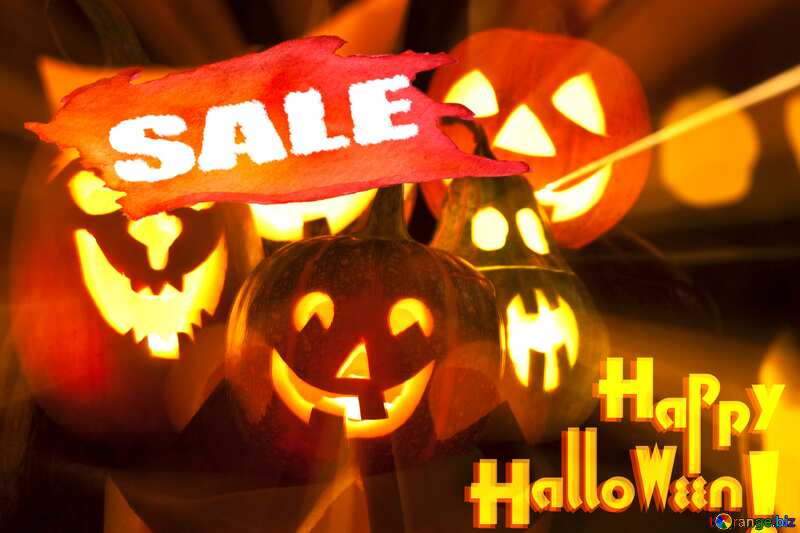 Halloween Template Sale №5934