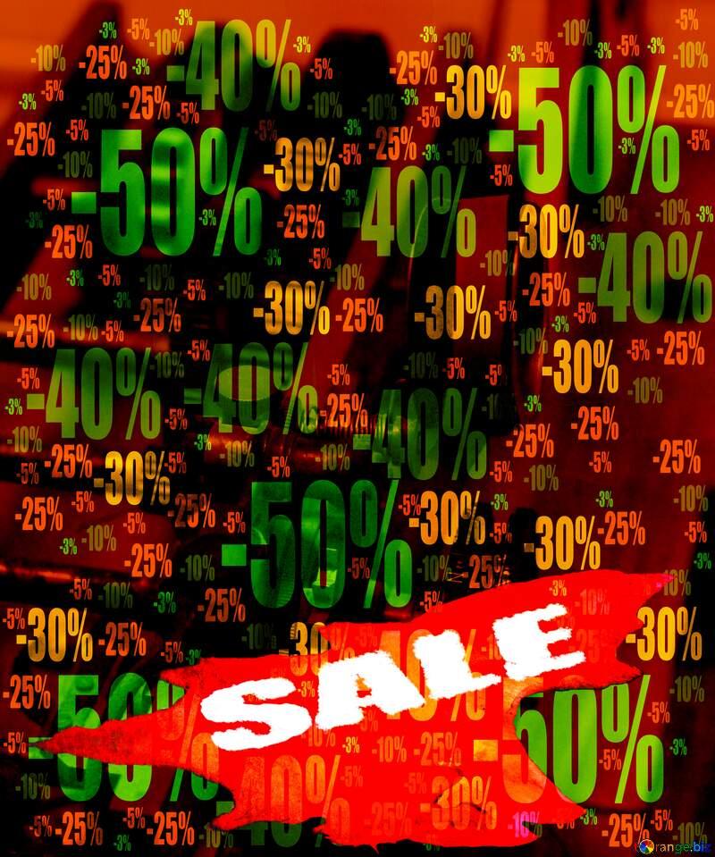 Sale Banner Beautiful Business Concept Design Former Mechanic Template Store discount dark background. №44264