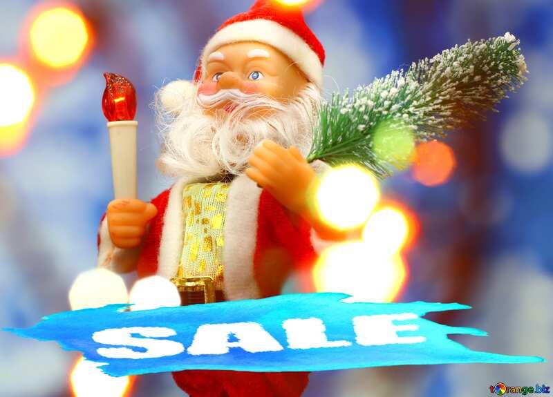 Santa Claus Concept Sale Template №48162