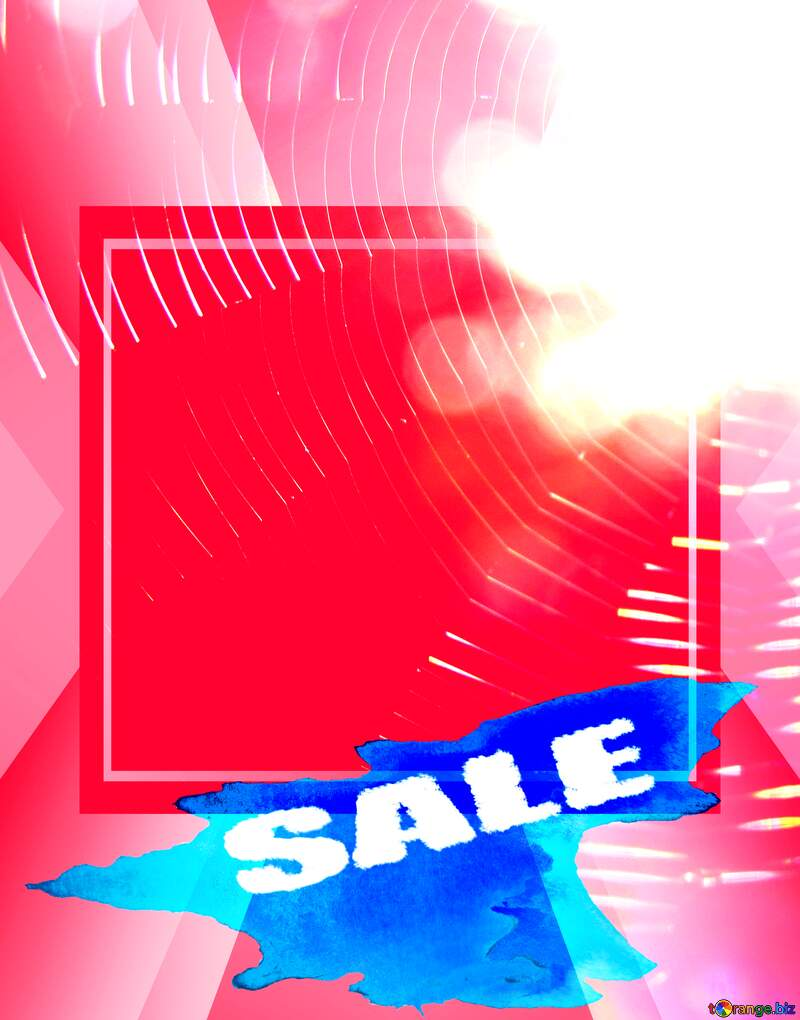 Sale background Spider Web Template №36181