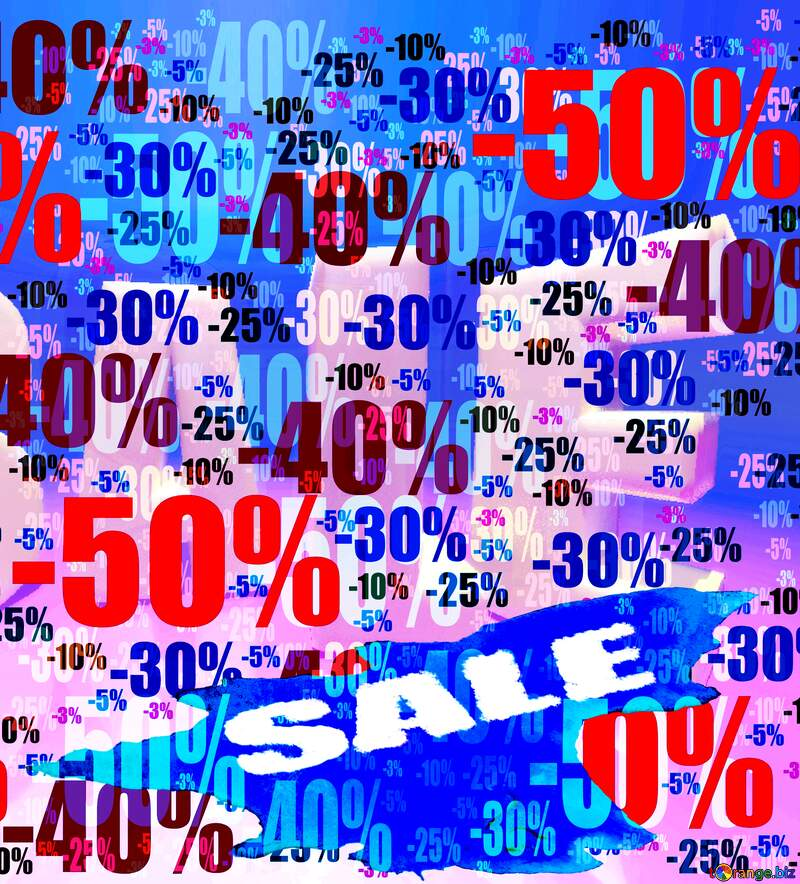 Store discount background. Sale Winter №51545