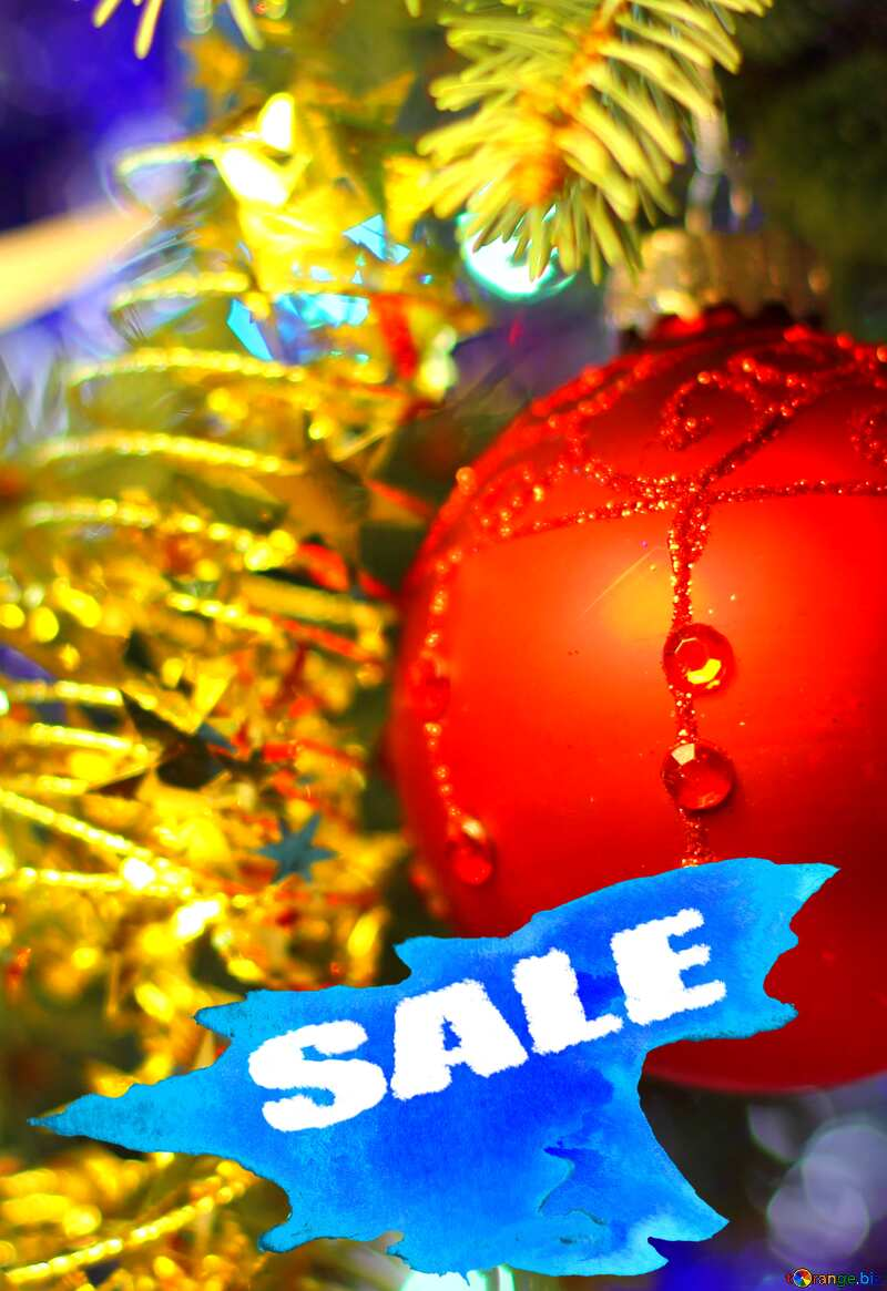 Sale background New Year №18355