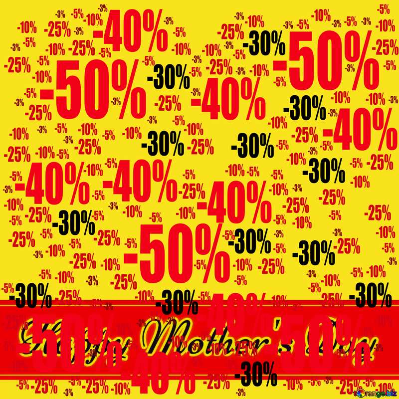 Sale offer discount template Happy Mother`s Day Creating Card Background №49670