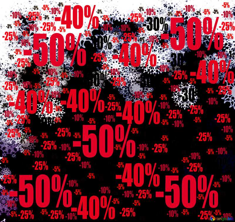 Background for new year sales Store discount dark background. Sale offer discount template №40698