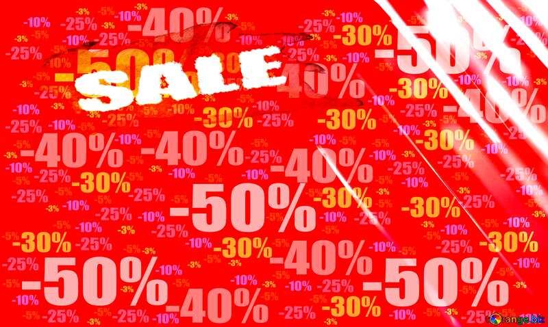 Hot Sale background red Splash Store discount dark background. №1700