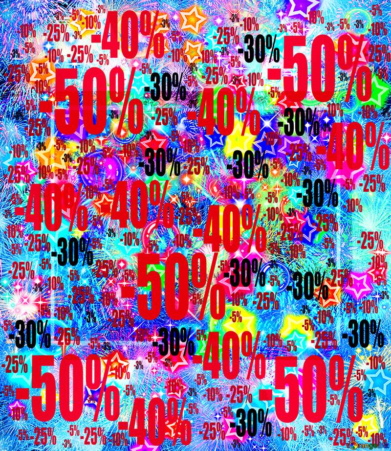 Footage background Gala Sale offer discount template №39926
