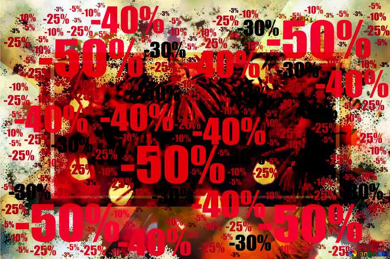 Background card Christmas Sale offer discount template №40727
