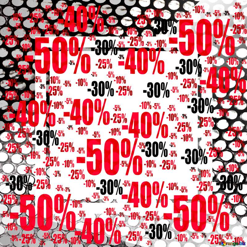 Sale offer discount template Industry Background №49675