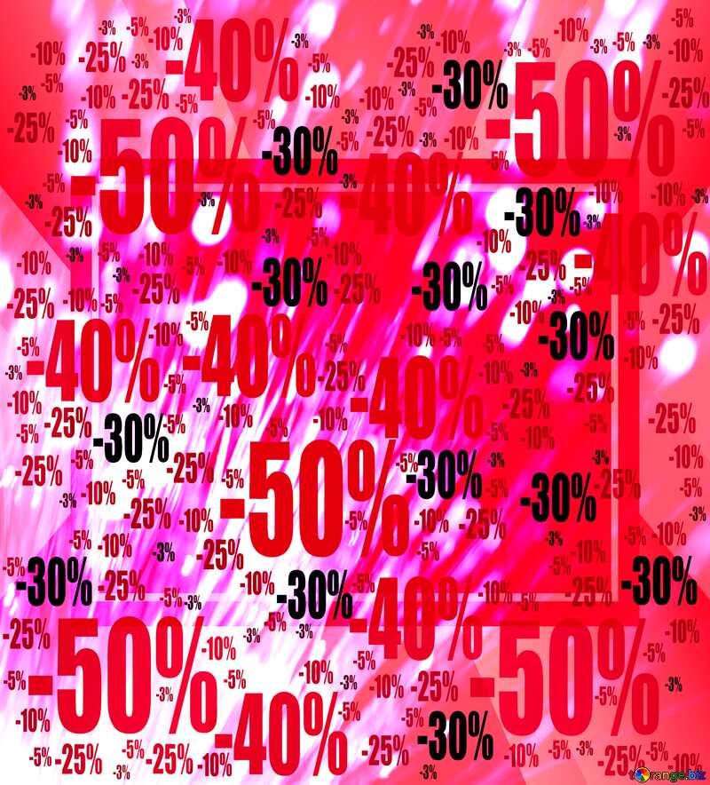 Optical fiber Bokeh business background Sale offer discount template №41330