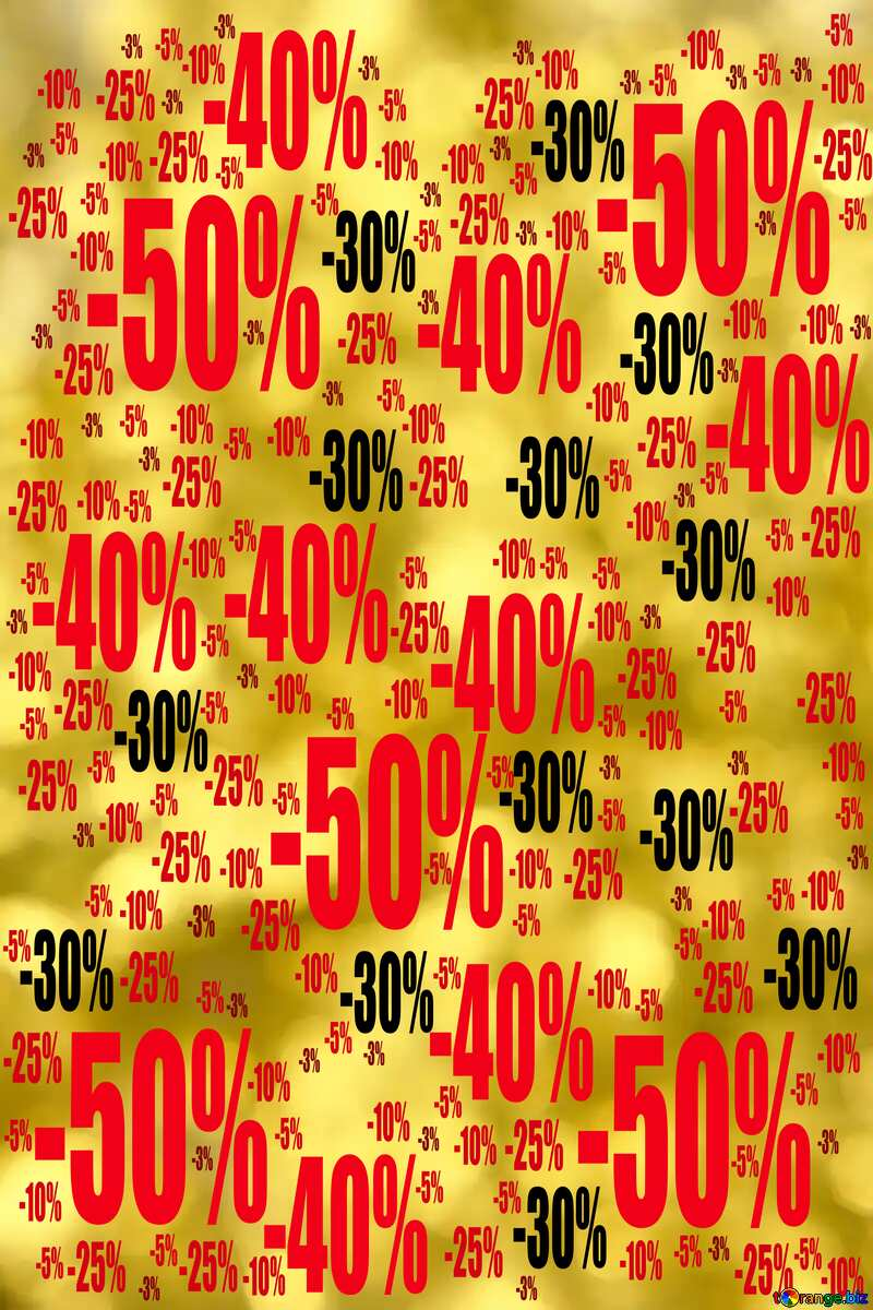 Shining golden Christmas background Sale offer discount template №37828