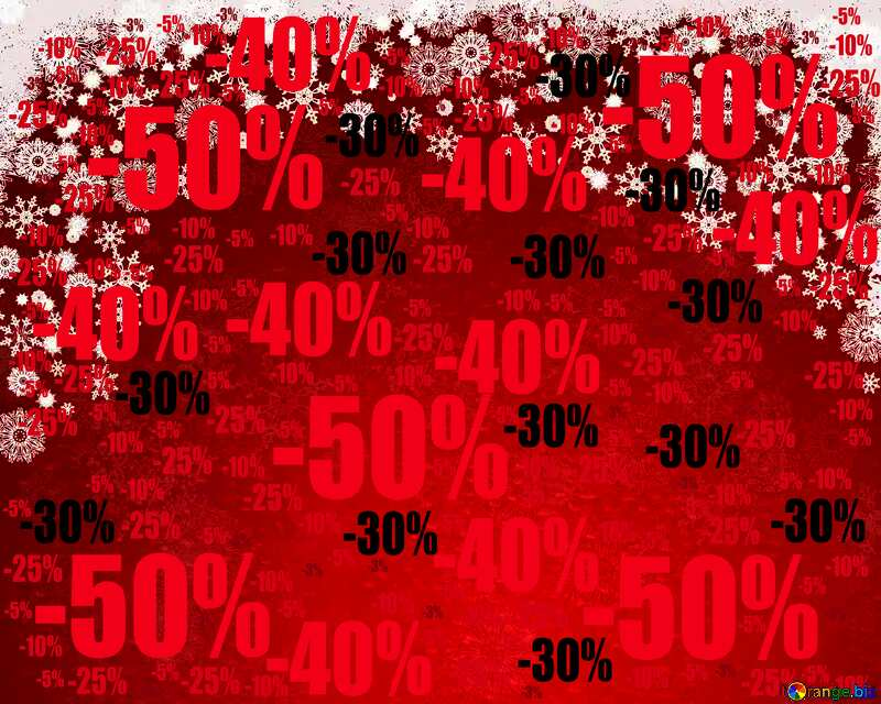Dark Red Christmas background Sale offer discount template №40659