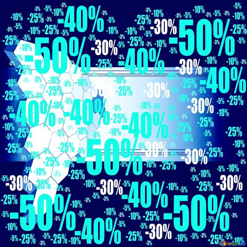 information technology dark background Sale offer discount template №49674