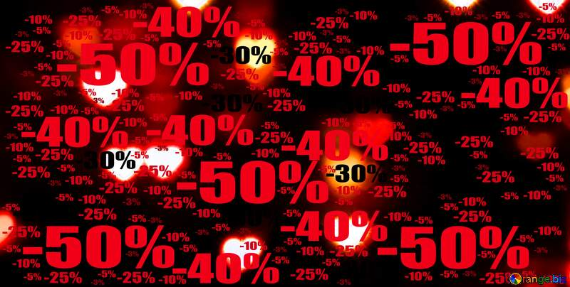 dark background with hearts bokeh Sale offer discount template №37850
