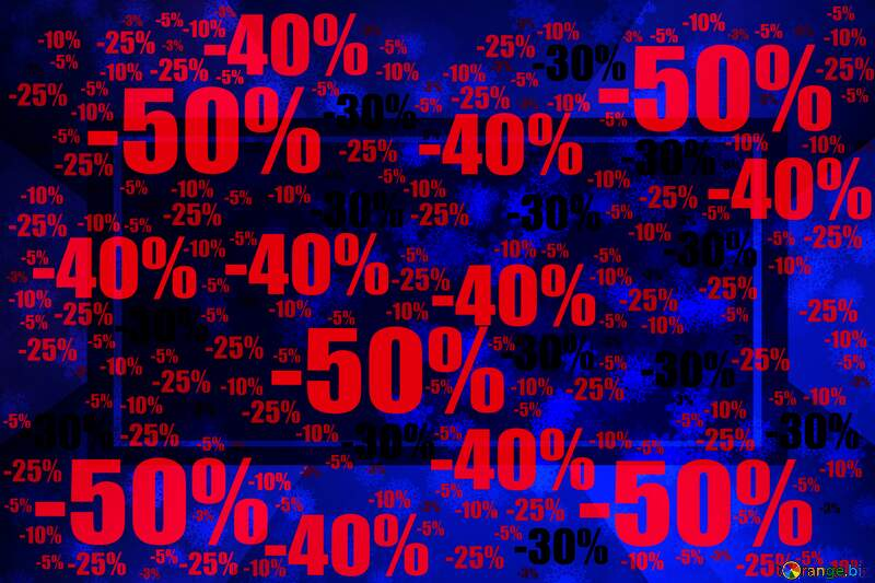 Blue Snowflake background Sale offer discount template Responsive Layout Business Design №40700