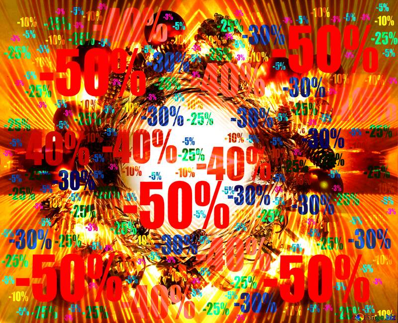 Lights lines curves pattern template Art Christmas Wreath Background Sale offer discount template №48047
