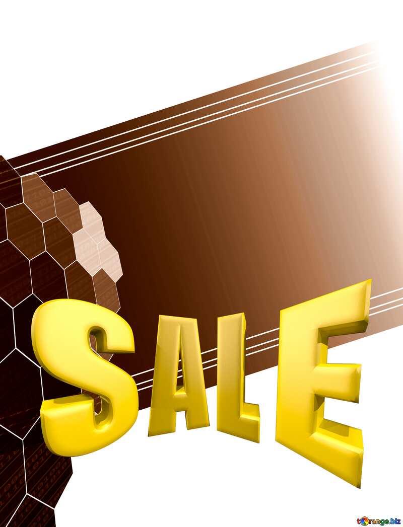 it business information technology concept background Sales promotion 3d Gold letters sale №49674