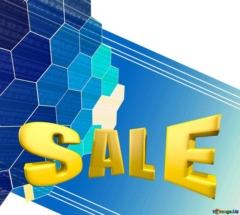 it business abstract background Sale offer discount template Sales promotion 3d Gold letters background №49674