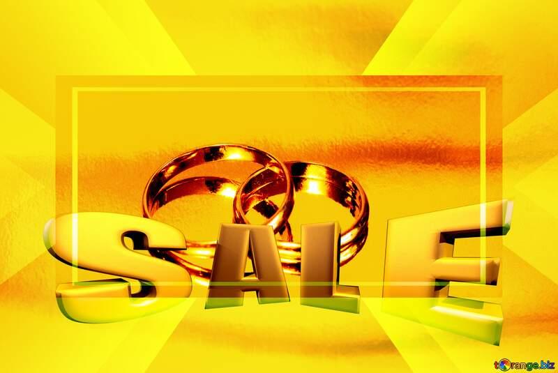 Wedding sale   background №7143
