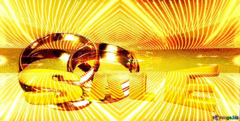Wedding background Engagement gold ring. №7143