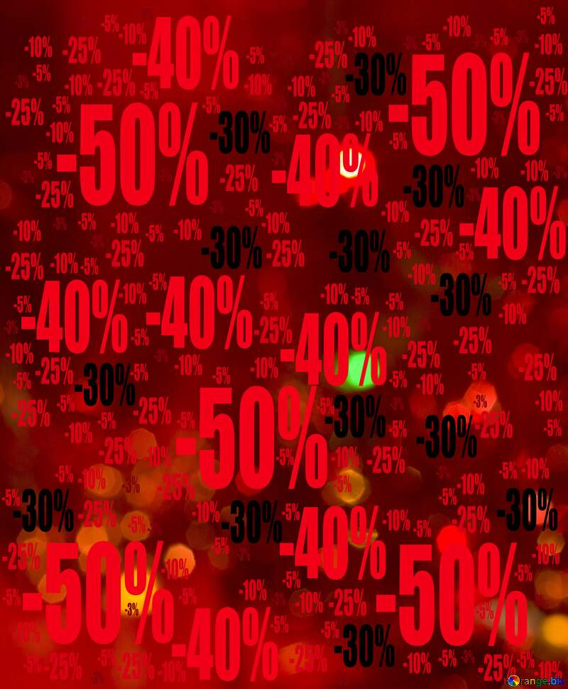Christmas background Sale offer discount template №15110
