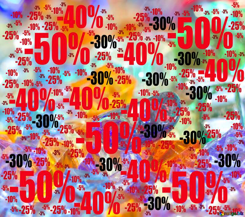 festive background Sale offer discount template №6518