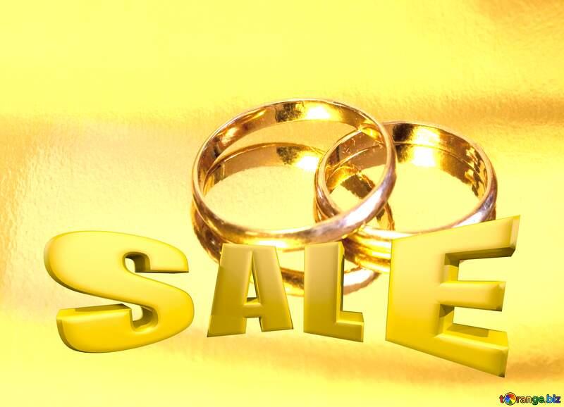 Wedding sale  promotion card Sales background №7143