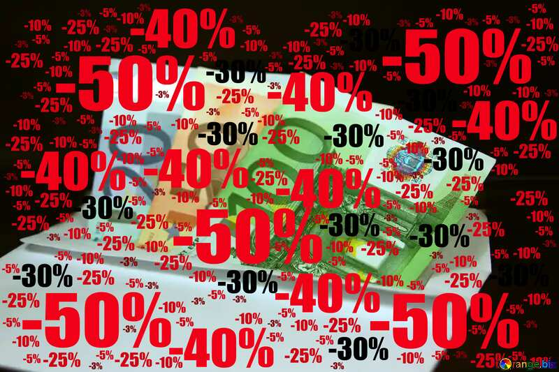 Sale offer discount template Money Background №4994