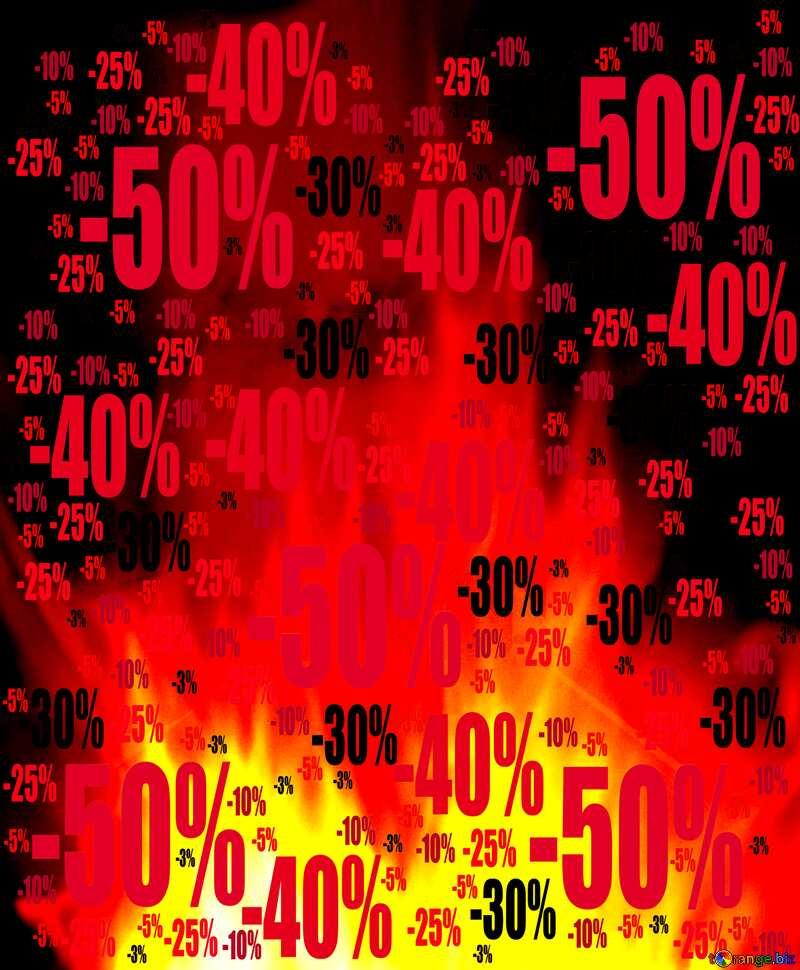 Store Shop Sales dark background. Sale offer discount template №9546